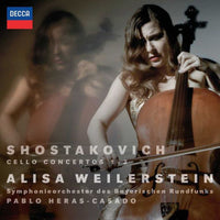 SHOSTAKOVICH / WEILERSTEIN, ALISA - CELLO CONCERTOS NOS 1 & 2 (CD)