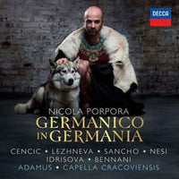 PORPORA / CENCIC / LEZHNEVA / SANCHO - GERMANICO IN GERMANIA (CD)