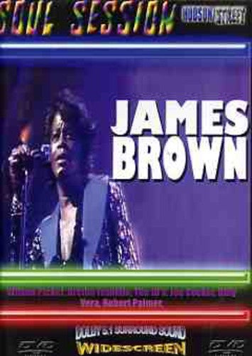 JAMES BROWN - SOUL SESSION - Video DVD