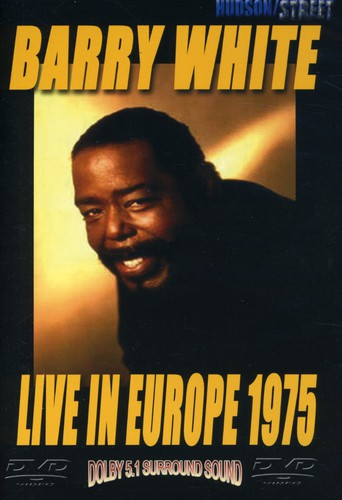 BARRY WHITE - LIVE IN EUROPE 1975 - Video DVD