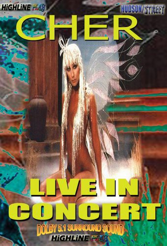 CHER - LIVE IN CONCERT - Video DVD