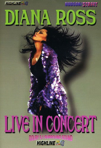 DIANA ROSS - LIVE IN CONCERT - Video DVD
