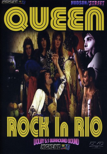 QUEEN - ROCK IN RIO - Video DVD