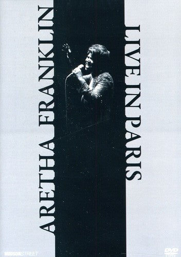 ARETHA FRANKLIN - LIVE IN PARIS - Video DVD