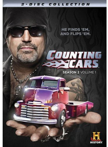 MOVIE DVD - COUNTING CARS: SEASON TWO - 1 DVD (DVD) - Video DVD