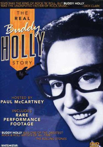 BUDDY HOLLY - REAL BUDDY HOLLY STORY - Video DVD