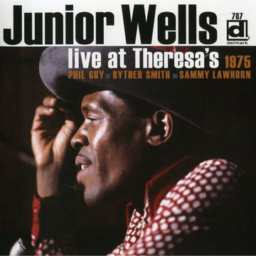 JUNIOR WELLS - LIVE AT THERESA'S 1975 - CD New