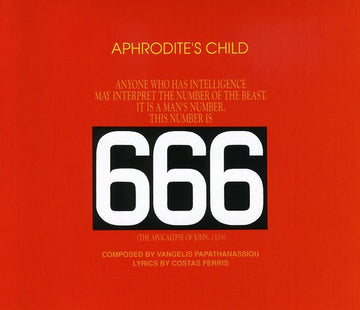 APHRODITE'S CHILD - 666 (CD) - CD New