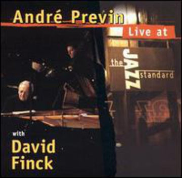 ANDRE PREVIN - LIVE AT THE JAZZ STANDARD - CD New