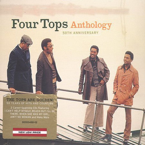 FOUR TOPS - 50TH ANNIVERSARY ANTHOLOGY - CD New