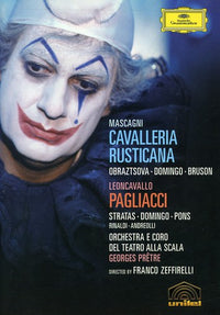 MASCAGNI / LEONCAVALLO / DOMING / LSCT / - CAVALLERIA RUSTICANA / PAGLIACCI - Video DVD