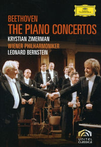 BEETHOVEN / ZIMERMAN / VPO / BERNSTEIN - PIANO CONCERTOS - Video DVD