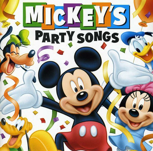 MICKEY'S PARTY SONGS / VARIOUS - MICKEY'S PARTY SONGS / VARIOUS - CD New
