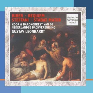 BIBER / STEFFANI / LEONHARDT - STABAT MATER / A-MAJOR REQUIEM