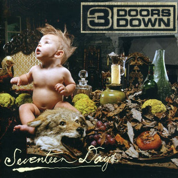 3 DOORS DOWN - SEVENTEEN DAYS - CD New