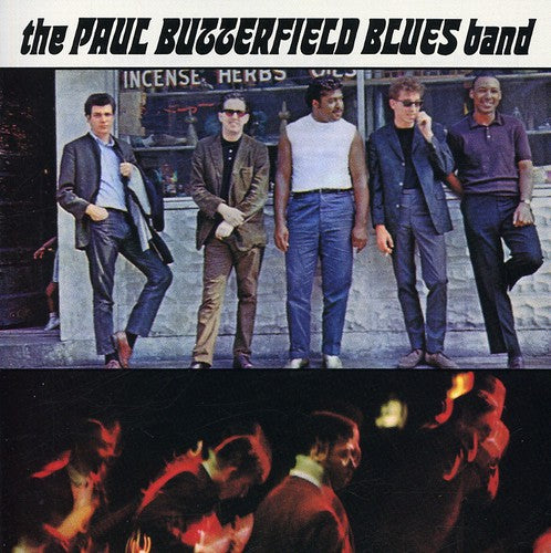BUTTERFIELD BLUES BAND, THE - PAUL BUTTERFIELD BLUES BAND (CD)