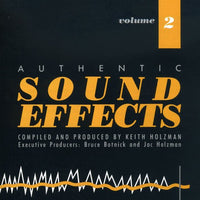 SOUND EFFECTS - AUTHENTIC SOUND EFFECTS VOL 2 (CD)
