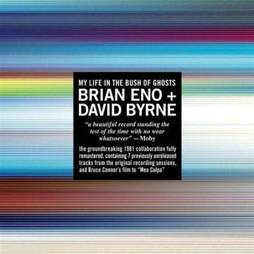 BRIAN & DAVID BYRNE ENO - MY LIFE IN THE BUSH OF GHOSTS - CD New