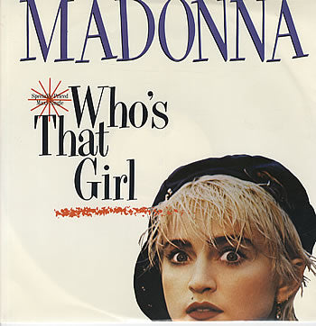 MADONNA - WHO'S THAT GIRL -SOUNDTRACK