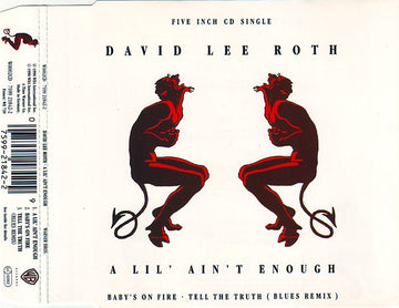 DAVID LEE ROTH - A LIL' AIN'T ENOUGH - CD Used Single