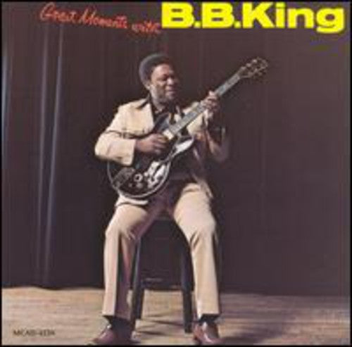 KING, B.B. - GREAT MOMENTS WITH BB KING (CD)