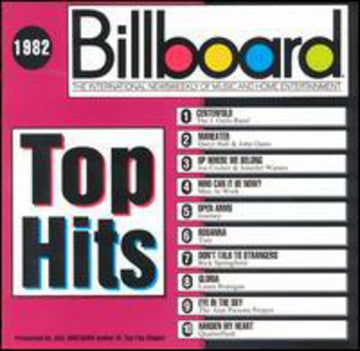 BILLBOARD TOP HITS: 1982 / VARIOUS - BILLBOARD TOP HITS: 1982 / VARIOUS
