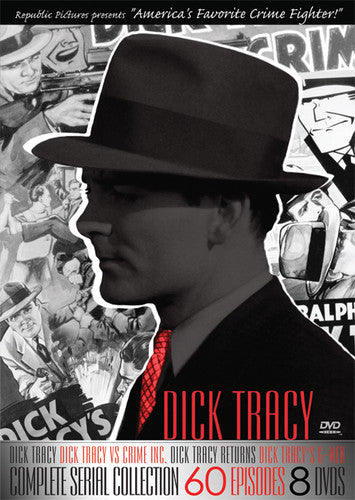 DVD MOVIE - DICK TRACY:COMPLETE SERIAL COLLECTI (DVD)