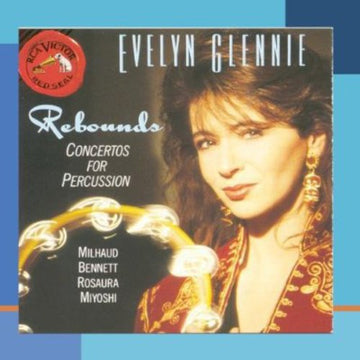 EVELYN / MILHAUD GLENNIE - REBOUNDS FOR PERCUSSION