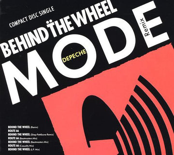 DEPECHE MODE - BEHIND THE WHEEL (X4) / ROUTE 66 - CD New Single