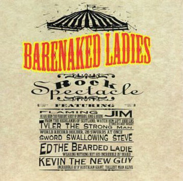 BARENAKED LADIES - ROCK SPECTACLE (CD)