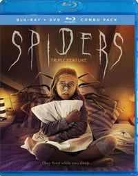 SPIDERS TRIPLE FEATURE - SPIDERS TRIPLE FEATURE - Video BluRay