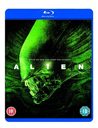 SIGOURNEY WEAVER - ALIEN -  [1979] - Video Used BluRay