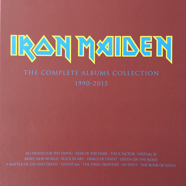 IRON MAIDEN - COLLECTORS BOX: NO PRAYER FOR THE DYING