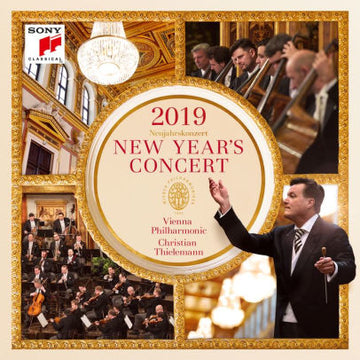 CHRISTIAN / WIENER PHILHARMO THIELEMANN - NEW YEAR'S CONCERT 2019 - Video DVD