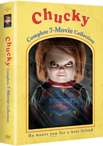 CHUCKY: COMPLETE 7-MOVIE COLLECTION - CHUCKY: COMPLETE 7-MOVIE COLLECTION (DVD) - Video DVD