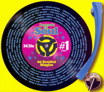 #1 ALBUM: LEGENDS OF SOUL / VARIOUS - #1 ALBUM: LEGENDS OF SOUL / VARIOUS (CD)