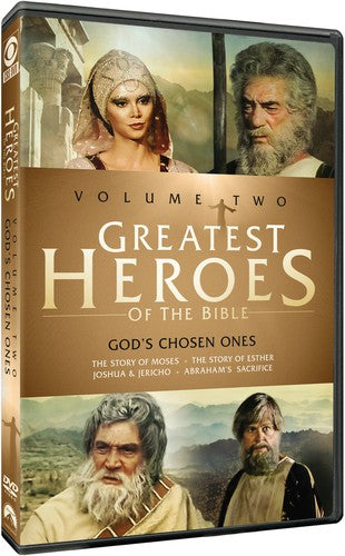 MOVIE DVD - GREATEST HEROES OF THE BIBLE: VOLUME TWO (DVD)