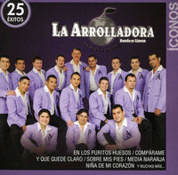 ARROLLADORA BANDA EL LIMON DE RENE CAMAC - ICONOS / 25 EXITOS - CD New