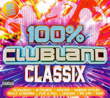 100% CLUBLAND CLASSIX / VARIOUS - 100% CLUBLAND CLASSIX / VARIOUS - CD New