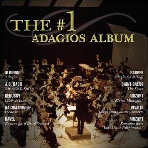 #1 ADAGIOS ALBUM (CD) - CD New