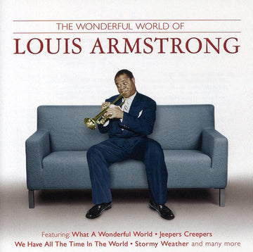 ARMSTRONG, LOUIS - WHAT A WONDERFUL WORLD (CD) - CD New