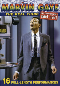 MARVIN GAYE - REAL THING: IN PERFORMANCE 1964-1981 - Video DVD