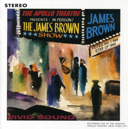 JAMES BROWN - LIVE AT THE APOLLO 1962 - CD New