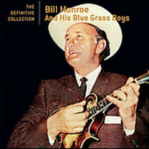 BILL MONROE - DEFINITIVE COLLECTION - CD New
