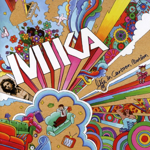 MIKA - LIFE IN CARTOON MOTION - CD New