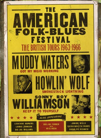 AMERICAN FOLK-BLUES FEST: BRITISH TOURS - AMERICAN FOLK-BLUES FEST: BRITISH TOURS - Video DVD