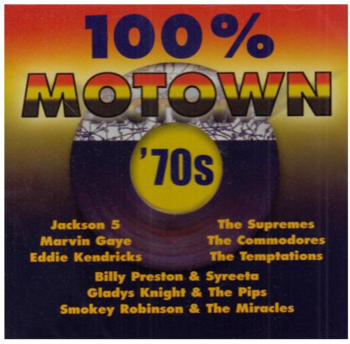 VARIOUS - 100% MOTOWN 70'S / VARIOUS - CD New