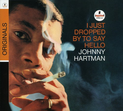 JOHNNY HARTMAN - I JUST DROPPED BY TO SAY HELLO - CD New