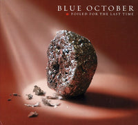 BLUE OCTOBER - FOILED FOR THE LAS TIME - CD New