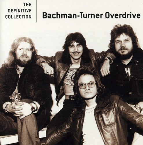 BTO ( BACHMAN-TURNER OVERDRIVE ) - DEFINITIVE COLLECTION (CD) - CD New